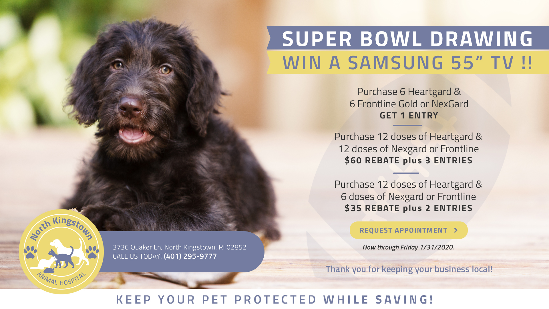 Promotions in North Kingstown, RI | North Kingstown Animal ...